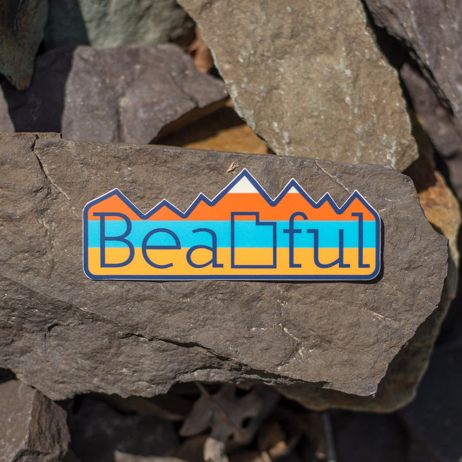 BeaUTAHful Mountains [Sticker] - CoLab. Print