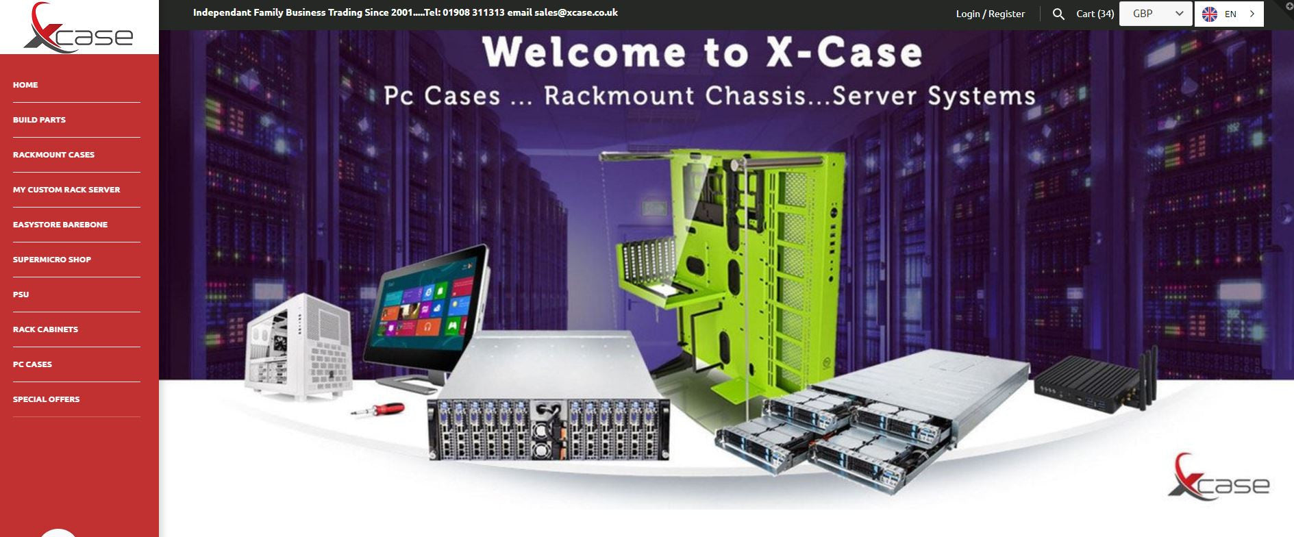 There is more than one company that makers pc enclosures in this world - New Website