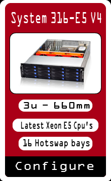3u Xeon E5 Hotswap Server Custom build