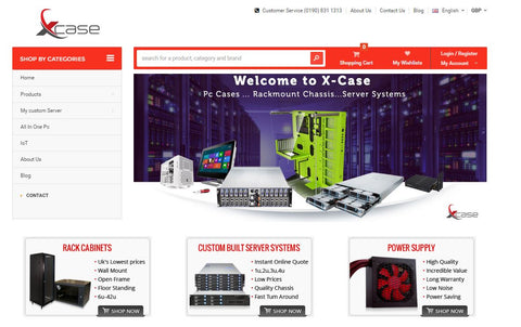 Xcase New Website
