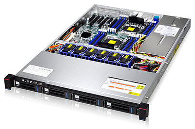RMC1104-670-HS 1u - 4 BAYS E-ATX chassis with 12Gb Backplane ,  Inc Rails - Supermicro I/O - X-Case.co.uk Ltd