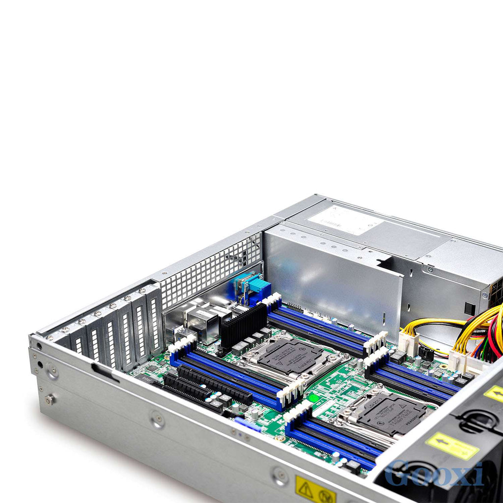 RM208 Pro V2 -RMC2108-670-HS 2u 8 Bays 12Gb backplane Rail Kit with Redundant Psu - X-Case.co.uk Ltd
