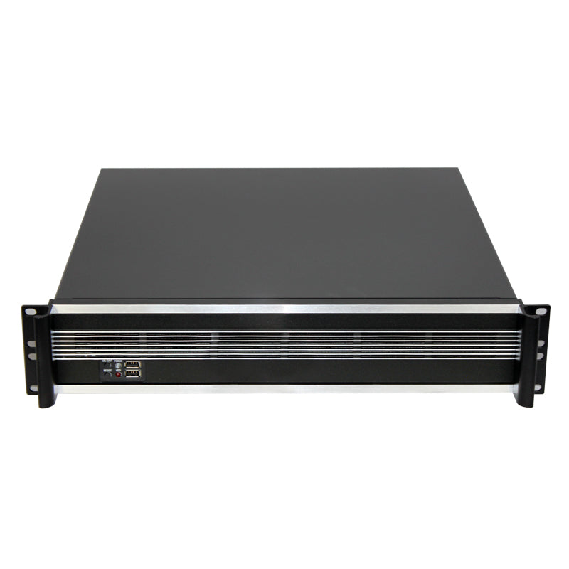 "XK245L2 2u Short Rackmount Chassis with 9 Internal 3.5"" - X-Case.co.uk Ltd"