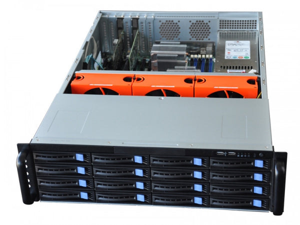 My Custom Server 316P - Xeon E3 V5 With 16 Hotswap Bays - X-Case.co.uk Ltd