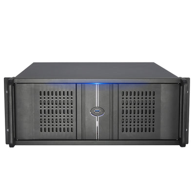 New - X448N 4u Chassis 500MM Deep - E-ATX  12 HDD Spaces - - X-Case.co.uk Ltd