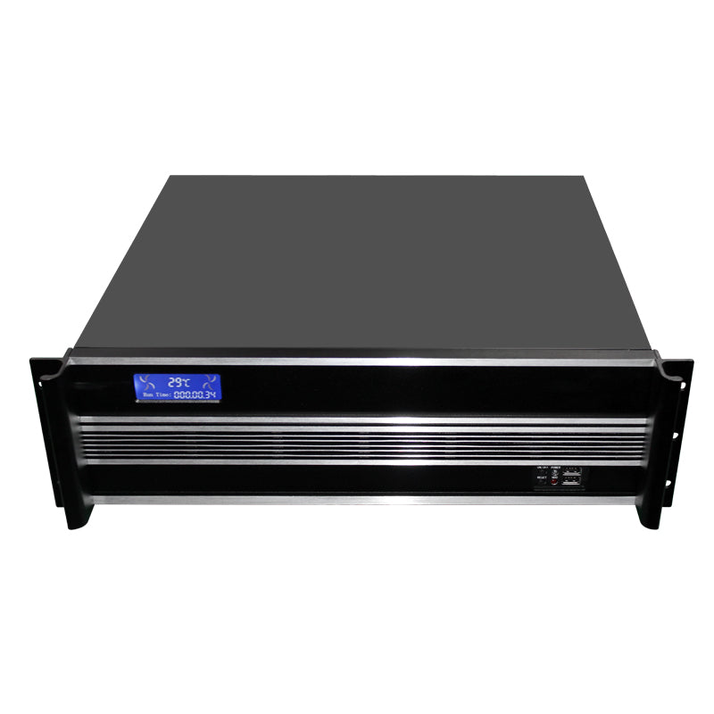 RackPc X3-Si  Custom Built to Order 3u Short Rackmount Pc - Build and Test Charge - X-Case.co.uk Ltd
