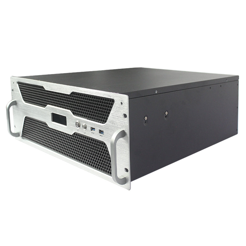 New- X450D 4u 500MM E-ATX Up to 13 HDD - - X-Case.co.uk Ltd