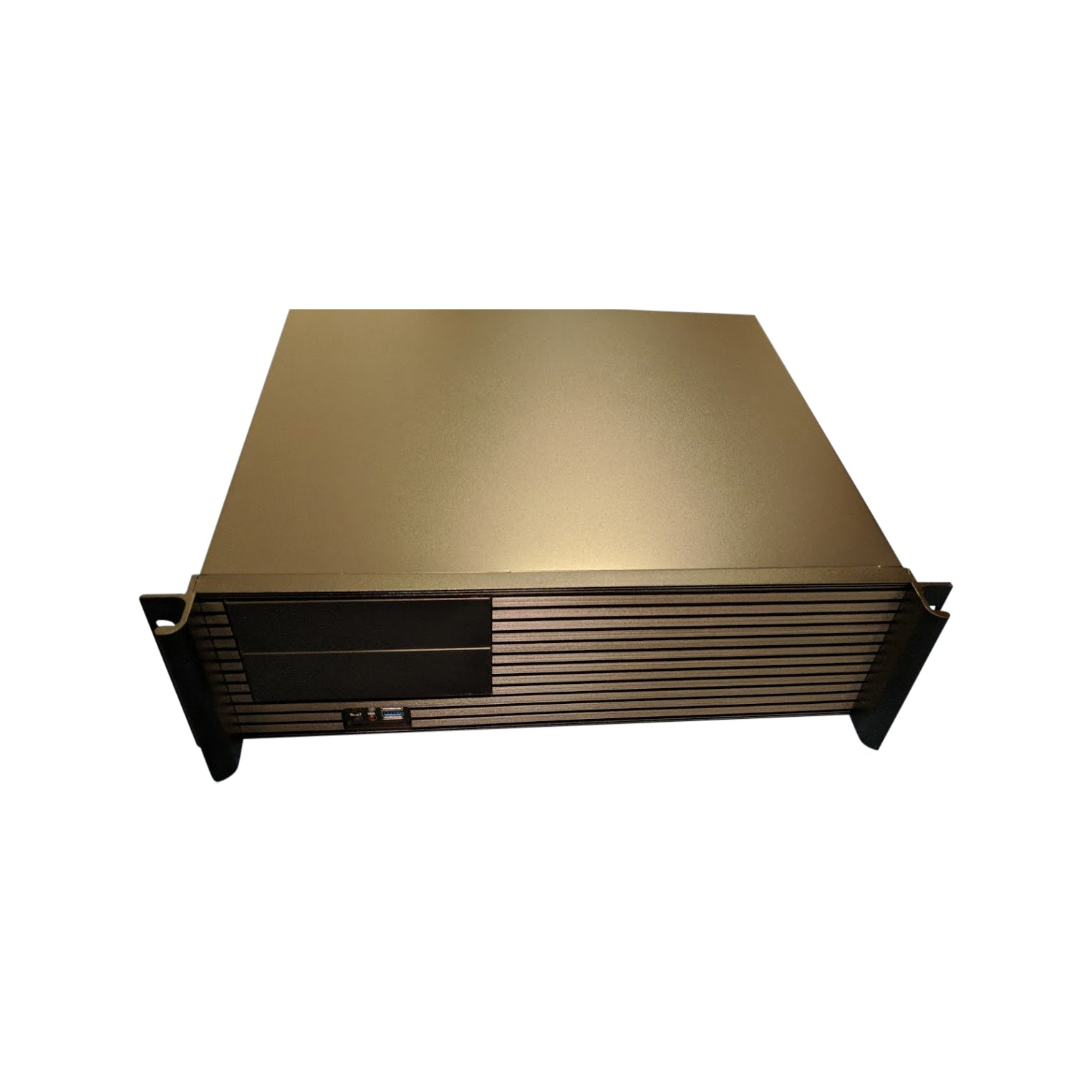 RackPc Chassis  X313 3u short  390mm  with Aluminium front panel Atx Support - USB 3 - X-Case.co.uk Ltd