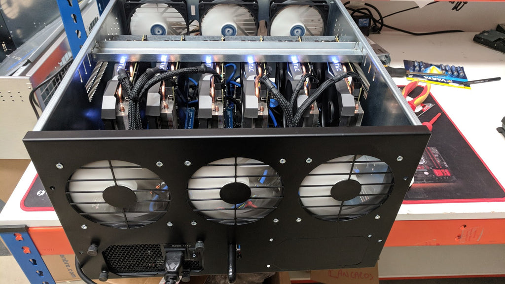 Gpu Project Chassis -M1 For Multiple Gpu's Mining or Other Project - X-Case.co.uk Ltd