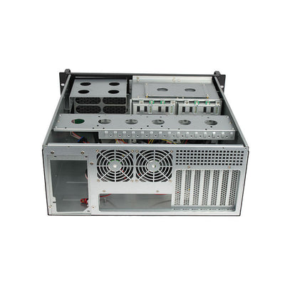 X-Case X445-C8 LCD.  4u with 8 Hotswap bay - X-Case.co.uk Ltd