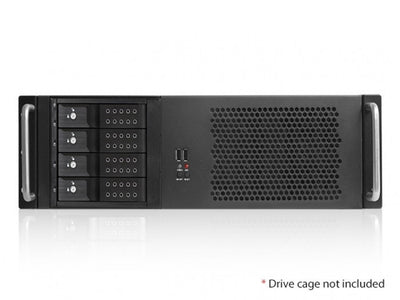RackPc Chassis  D314 3u Short Rackmount Case USB3 - X-Case.co.uk Ltd