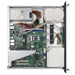 IN WIN RA100  1u with 2 Fans - X-Case.co.uk Ltd