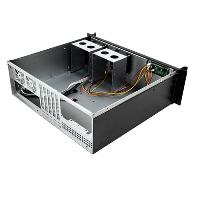 RackPc Chassis XC339L2 Short 3u Matx Motherboard Support - LCD Display -USB 3 - X-Case.co.uk Ltd