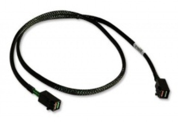 X-Case eXtra Value SAS Cable 8643-8643 With SGPIO Support 12GB 0.6m - X-Case.co.uk Ltd