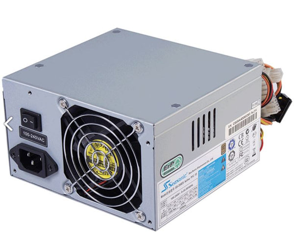 Seasonic 500ES 500W 80+ Atx Psu with 8cm Fan - X-Case.co.uk Ltd