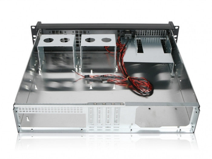 X-Case Studio 2 - 2u M-ATX Short -Double door Aluminium front panel - X-Case.co.uk Ltd