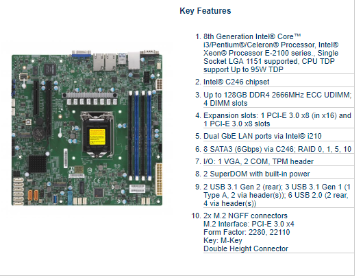 Xeon® E-2100 Boards / Socket H4 (LGA 1151) - X-Case.co.uk Ltd