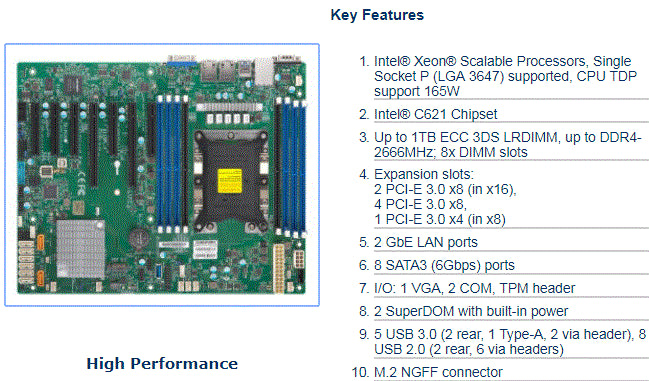 Motherboards for Intel Scalable - X-Case.co.uk Ltd