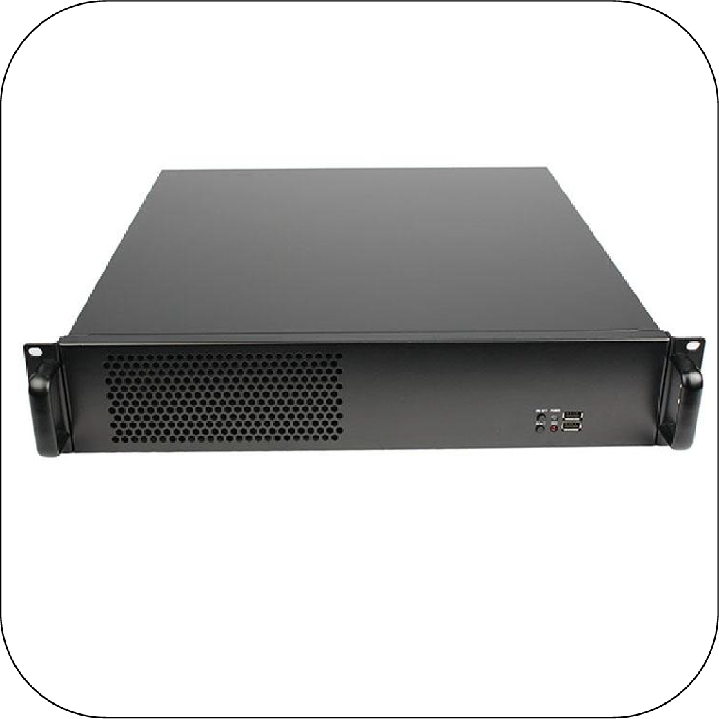 RackPc Chassis  X245F- Half height and Full Height expansion slots - X-Case.co.uk Ltd