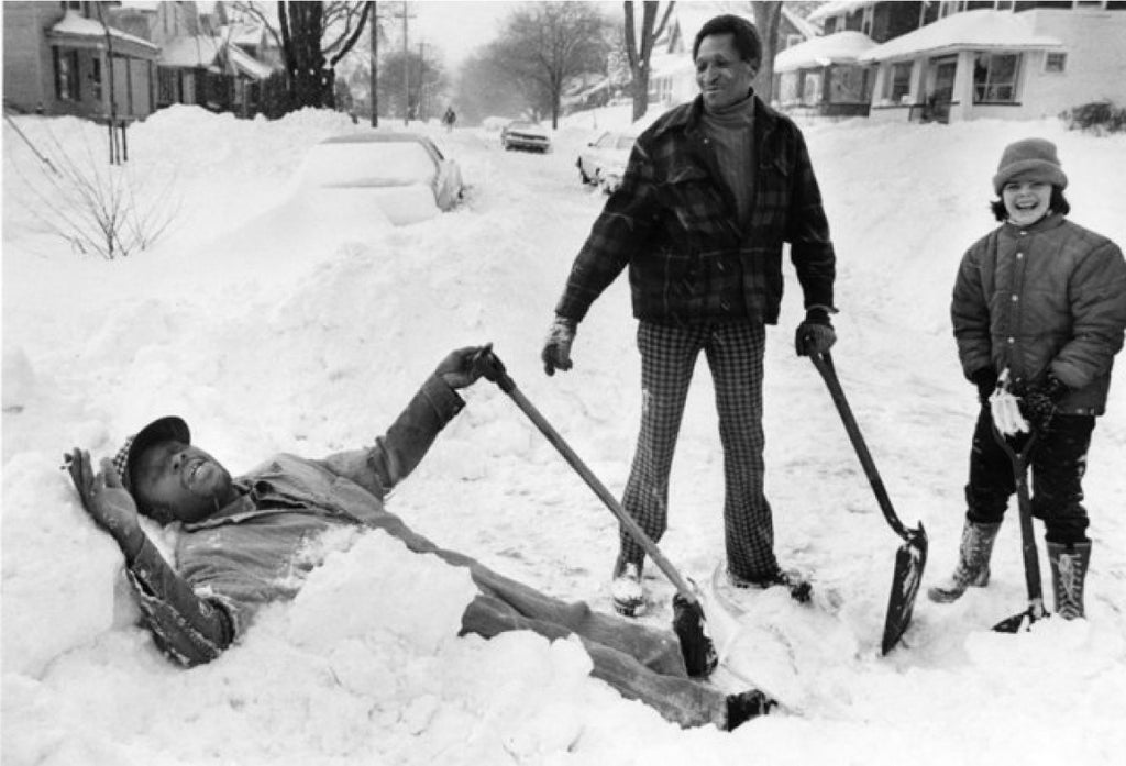 Snow Shoveling | Blizzard of 78 | The Mitten State