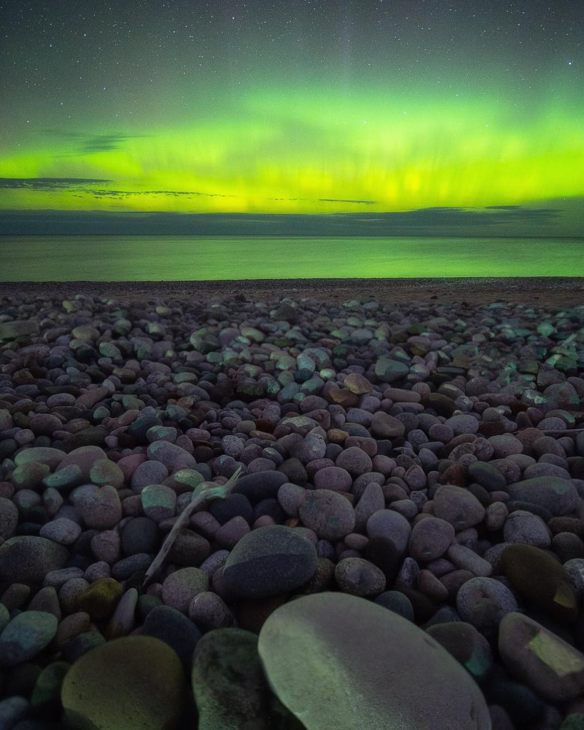 Northern Lights | Lake Superior | The Mitten State