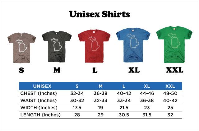 4d28e00a All TMS apparel is designed with vintage blends and run a bit slimmer than  traditional cuts. For more information please refer to the sizing charts  below: