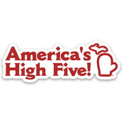 AMERICA'S HIGH FIVE STICKER