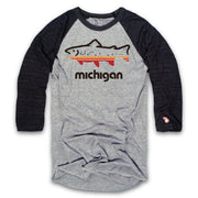FISH MICHIGAN RAGLAN (UNISEX)