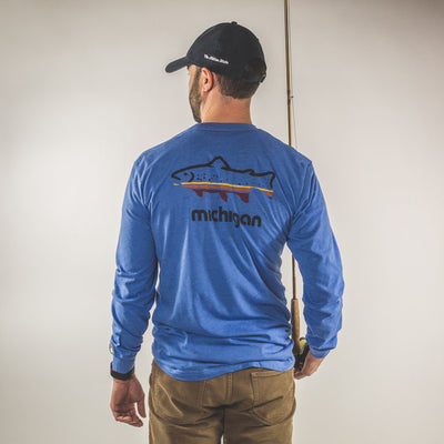 FISH MICHIGAN LONG SLEEVE (UNISEX)