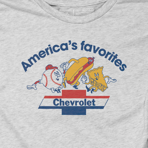 GM - CHEVROLET - AMERICA'S FAVORITES (UNISEX)