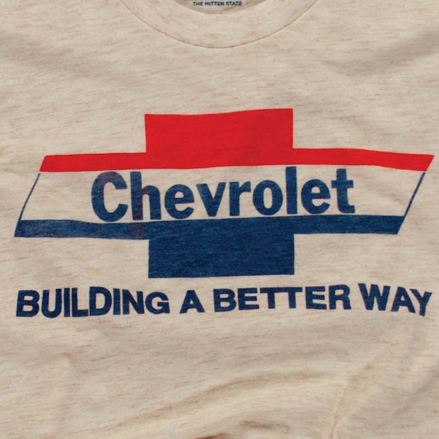 GM - CHEVROLET 1974 TRI-COLOR BOWTIE (UNISEX)