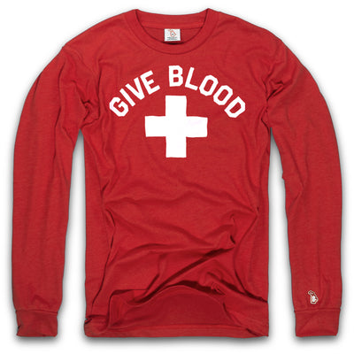 GIVE BLOOD. FIGHT PROBIE. - LIMITED EDITION - LONG SLEEVE (UNISEX)