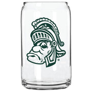 MSU GRUFF SPARTY GLASS CAN