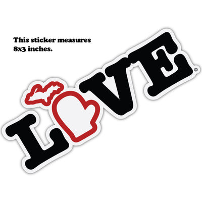 BIG LOVE STICKER