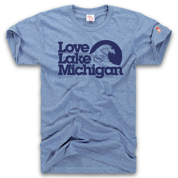 LOVE LAKE MICHIGAN - AUGUST THROWBACK (UNISEX)