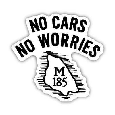 MACKINAC M-185 STICKER