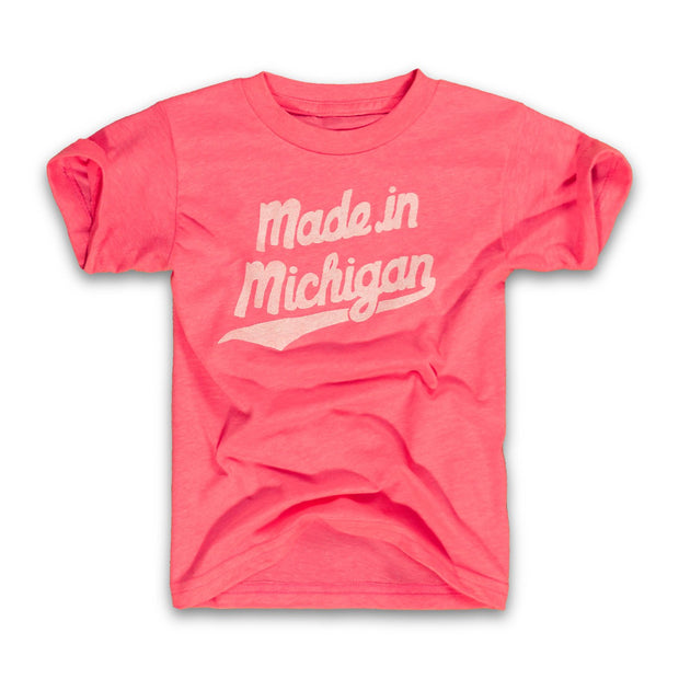 MADE IN MI SCRIPT - PINK (YOUTH)