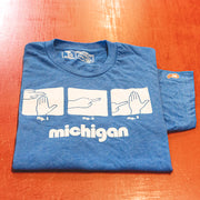MICHIGAN MAP (UNISEX)