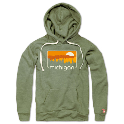 MICHIGAN COLOR TOUR LIGHTWEIGHT HOODIE (UNISEX)
