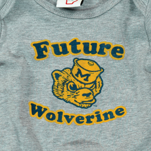 MICHIGAN - FUTURE WOLVERINE ONESIE (BABY)