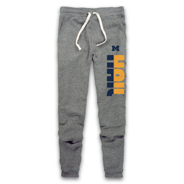 MICHIGAN - HAIL FLEECE JOGGER (UNISEX)