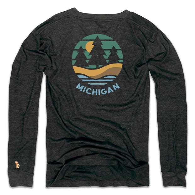 MICHIGAN SHORELINE LONG SLEEVE (UNISEX)