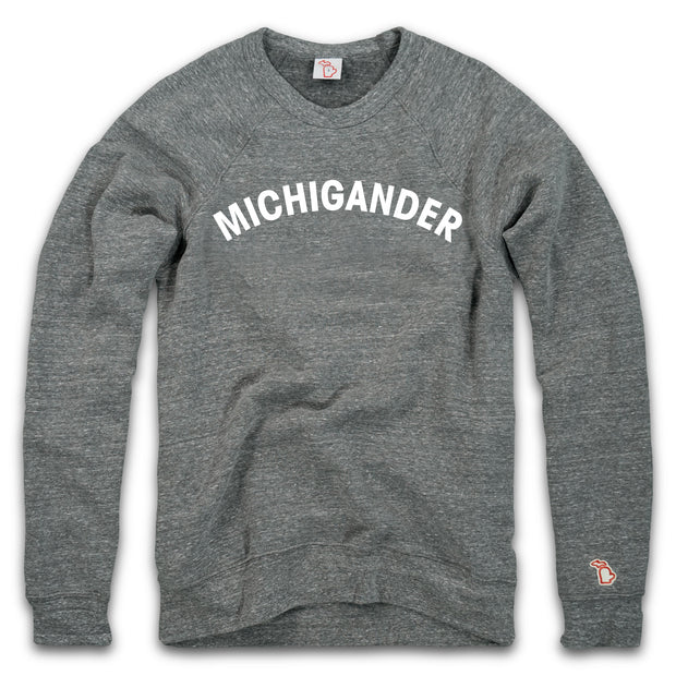 MICHIGANDER FLEECE SWEATSHIRT (UNISEX)