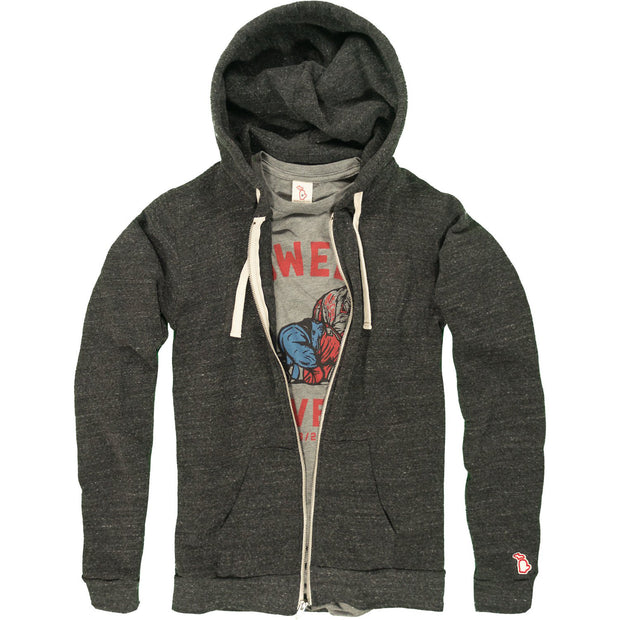 THE CLASSIC - FLEECE ZIP-UP HOODIE (UNISEX)