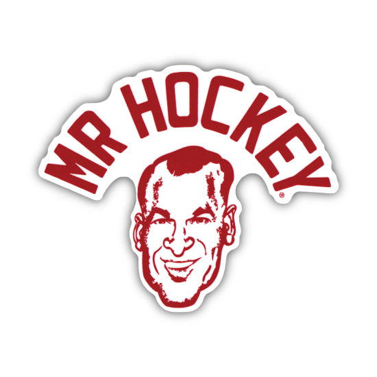 MR. HOCKEY STICKER