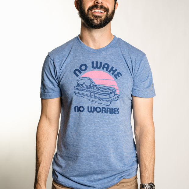 NO WAKE, NO WORRIES (UNISEX)