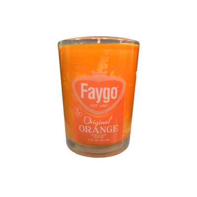 FAYGO CANDLE - ORANGE