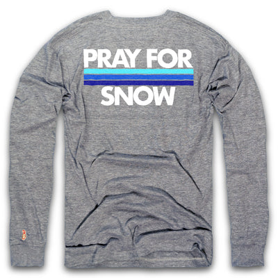 PRAY FOR SNOW LONG SLEEVE (UNISEX) 11f2bbb1a
