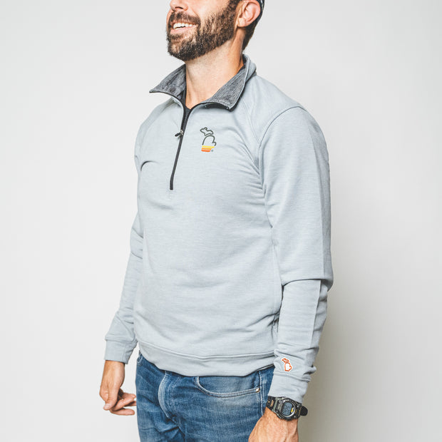 THE MITTEN - SUNSET QUARTER ZIP (UNISEX)