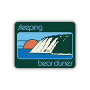 SLEEPING BEAR DUNES STICKER